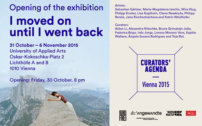 "EXHIBITION ""I MOVED ON until I WENT BACK"" 1"