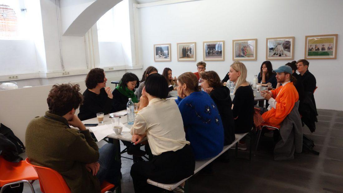 studio das weisse haus and BLOCKFREI curators in residence 2020 cooperation
